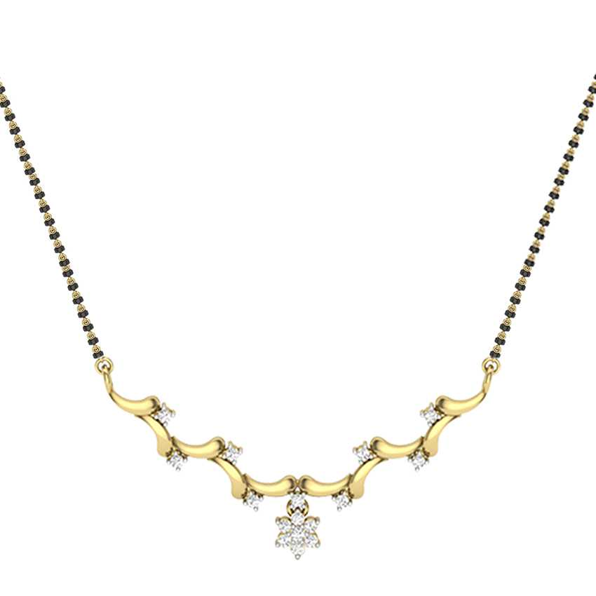 Dangling Diamond Mangalsutra