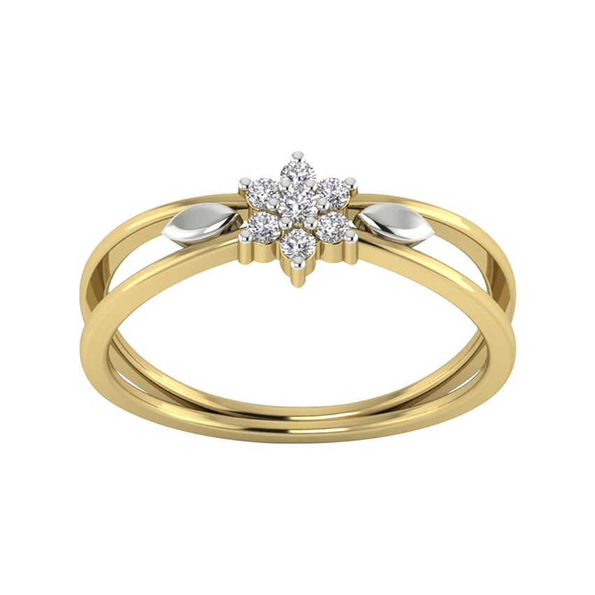 Beautiful Diamond Ring in Yellow Gold