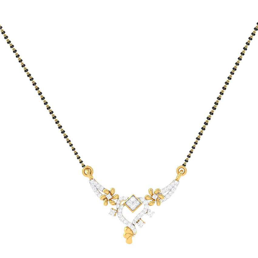 Charming Diamond Mangalsutra