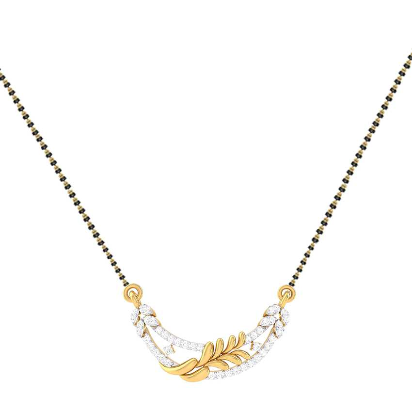 Loopy Diamond Mangalsutra