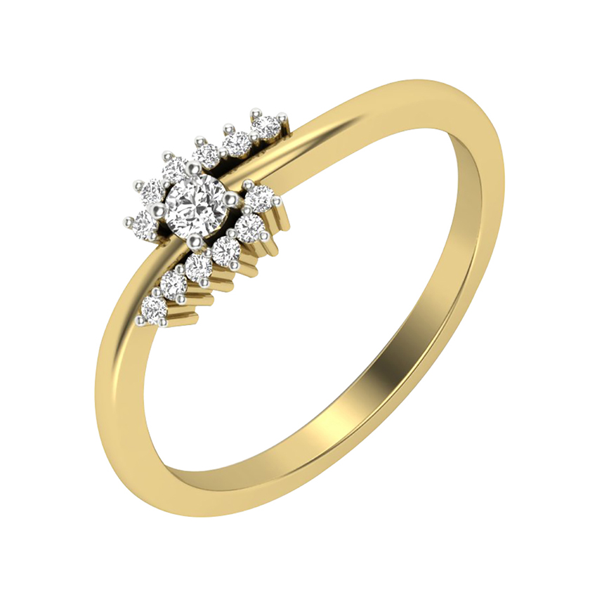 Marvelous Diamond Ring in Yellow Gold