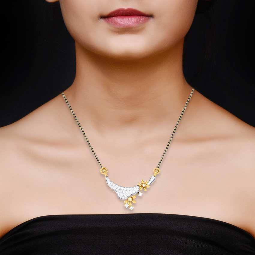 Authentic Diamond Mangalsutra