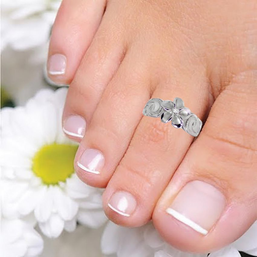 SILVER TOE-RING